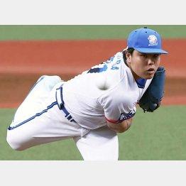 平良は開幕連続無失点試合の日本記録を更新(C)共同通信社
