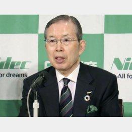 日本電産会長兼CEOの永守重信氏(C)共同通信社