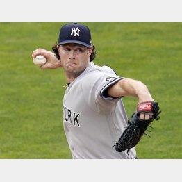 ヤンキースのゲリット・コール投手はスパイダータックの使用が判明しているが…(C)AP=共同