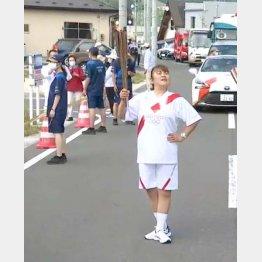 岩手県山田町にて(提供写真)