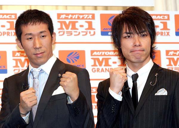 「麒麟」の田村裕と川島明(右)、2007年当時(C)日刊ゲンダイ