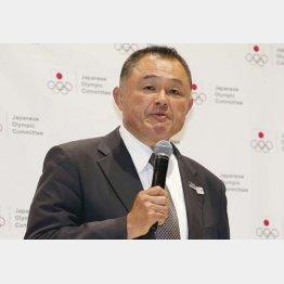 金メダル30個を目標に掲げるJOCの山下泰裕会長(C)日刊ゲンダイ