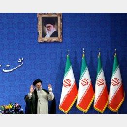 新イラン大統領に選出されたライシ師(C)ロイター/WANA