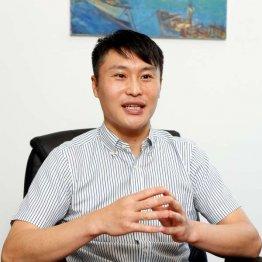 「全国で中小企業向けのトータルBPOサービスを展開していきたい」と吉江氏(C)日刊ゲンダイ