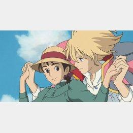 映画「ハウルの動く城」(C)2004 Studio Ghibli・NDDMT