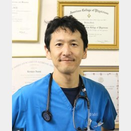 2020年2月、専門家としてダイヤモンド・プリンセス号を調査(感染症専門内科医の岩田健太郎氏)/(提供写真)