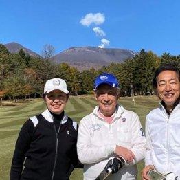 蟹瀬誠一さん<1>初ゴルフはレンタルの7番アイアン1本で