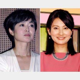 有働由美子(左)と井上あさひ(C)日刊ゲンダイ