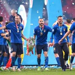 53年ぶりに欧州王者に輝いたイタリア