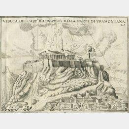図③ 出典:Emmanuel Simon Joseph Léon de Laborde. Athènes aux XVe, XVIe et XVIIe siècles, Paris, Jules Renouard, 1854.(C)Wikimedia Commons