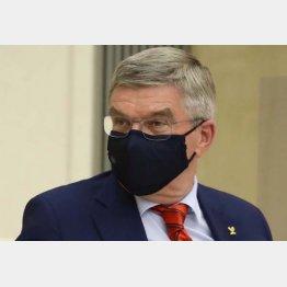 IOCのバッハ会長(C)JMPA