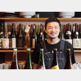 「Spice Drunker やぶや」の藪晋伍さん(C)日刊ゲンダイ