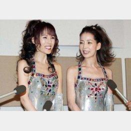 いつも可愛いピンク・レディーのミーちゃん(左)とケイちゃん(C)日刊ゲンダイ