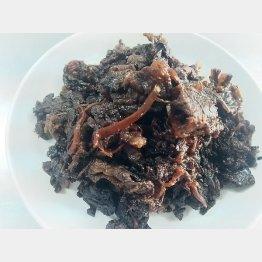 牛肉のしぐれ煮(提供写真)