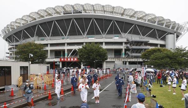 東京五輪でサッカーが行われるカシマスタジアム(C)共同通信社
