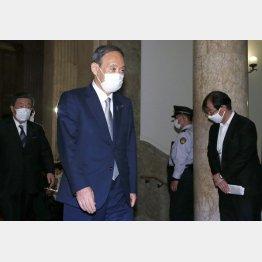 8月の世論調査がとどめに(菅首相)/(C)日刊ゲンダイ