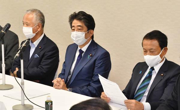 自民党を牛耳る3A(C)日刊ゲンダイ