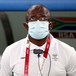 サッカー南アフリカ代表のノトアネ監督(C)ロイター