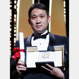 カンヌ国際映画祭で脚本賞を受賞した濱口竜介監督(C)ロイター