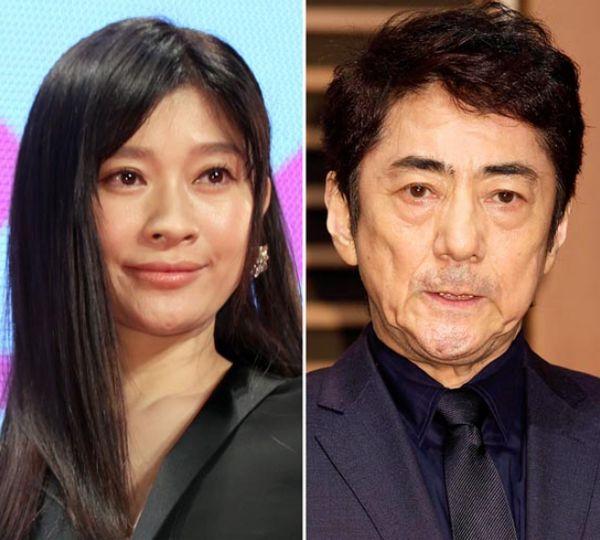 篠原涼子(左)と市川正親(C)日刊ゲンダイ