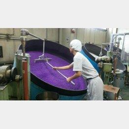 2週間かけて完成する金平糖(提供写真)