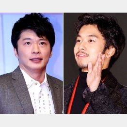 田中圭(左)と仲野太賀(C)日刊ゲンダイ