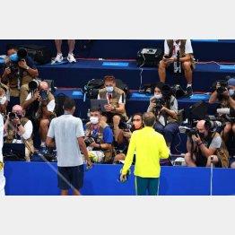 東京五輪で取材する海外メディア(C)JMPA