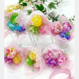 大阪糖菓のコンペイトウブーケ(提供写真)