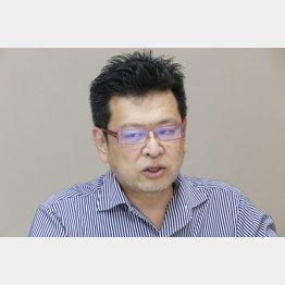 内山雄人監督(C)日刊ゲンダイ