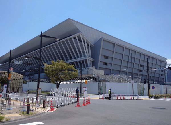 東京アクアティクスセンター(写真)元川悦子