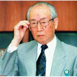 国会人に参考人招致された松下廉蔵・ミドリ十字社長(1995年)/(C)日刊ゲンダイ