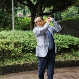 松下賢次さん<1>TBSの最終面接に受かったのもゴルフのおかげ