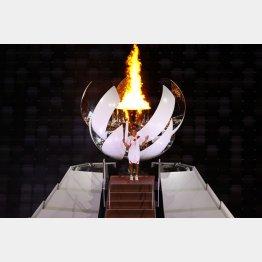 聖火点火のシーンには「ボレロ」が(C)JPMA