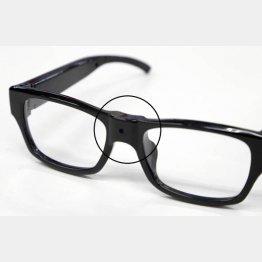 市販されているカメラ機能付き眼鏡(C)日刊ゲンダイ