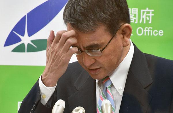 対デルタ株にはノーアイデア(河野太郎ワクチン担当相)/(C)日刊ゲンダイ