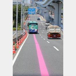 東京五輪期間中、都内は大規模な交通規制(C)JMPA