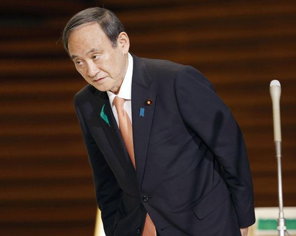 新型コロナウイルス対策がメチャクチャでは夢物語…(菅首相)/(C)共同通信社