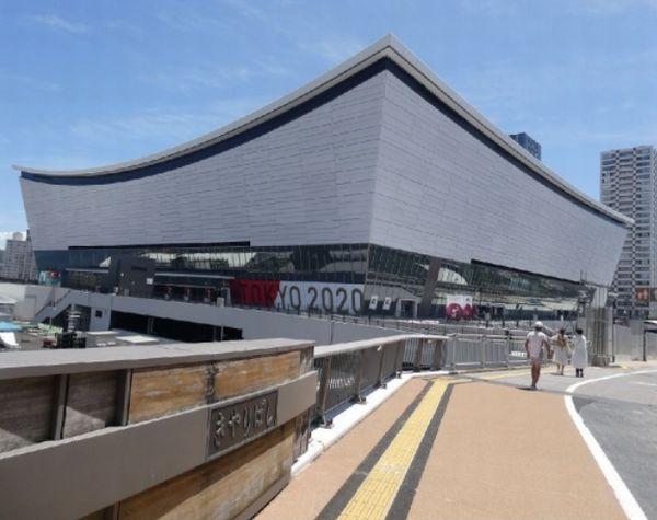 2020年2月に完成した有明アリーナ(写真)元川悦子