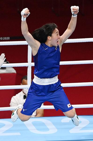 ボクシングの入江聖奈は鳥取県出身の五輪覇者第1号(C)JMPA