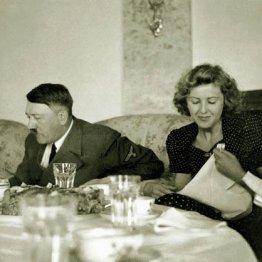 ヒトラーとエバ・ブラウン