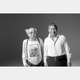 荒木とビートたけしさん(2014年 撮影:野村佐紀子「ダ・ヴィンチ」2015年5月号掲載)/(提供写真)