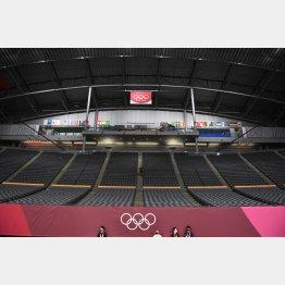 無観客開催の東京五輪2020(C)JMPA