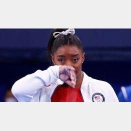 本当なら、我々日本人の非力を恥じるのが先ではないか(体操女子米国代表のシモーン・バイルス選手)/(C)ロイター