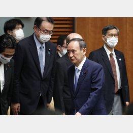 このままでは総選挙を戦えない(菅首相)/(C)JMPA