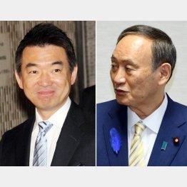 同じ罠に引っかかってはならない(菅首相と橋下氏)/(C)日刊ゲンダイ
