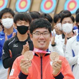 アーチェリー男子個人・団体「銅」古川高晴<1>予選Rは最悪の滑り出し 原因不明の不調でパニックに