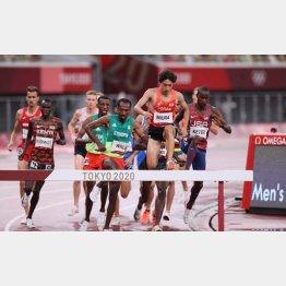 東京五輪では陸上男子3000メートル障害で三浦が日本人初の7位入賞したが…(C)JMPA