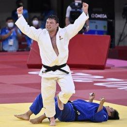 柔道男子100キロ級「金」団体混合「銀」ウルフアロン<1>過酷な減量の中身「日本代表で一番際どいやり方」