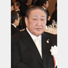 「日大のドン」こと田中英寿理事長(C)日刊ゲンダイ