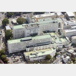 日大附属板橋病院(C)共同通信社